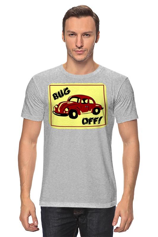 Футболка классическая Printio Bug off футболка классическая printio off road