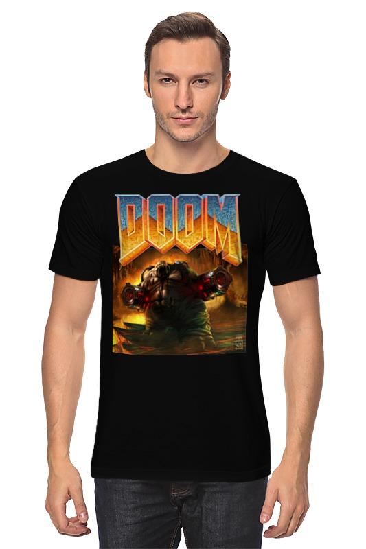 Футболка классическая Printio Doom game футболка doom