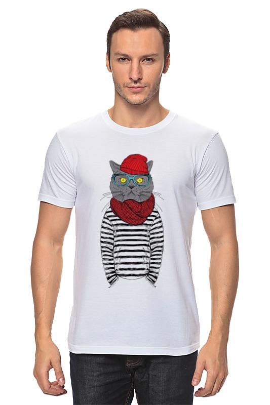Printio Cat hipster лонгслив printio cat hipster