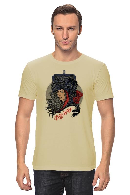 Футболка классическая Printio Bad wolf (doctor who) футболка рингер printio доктор кто doctor who
