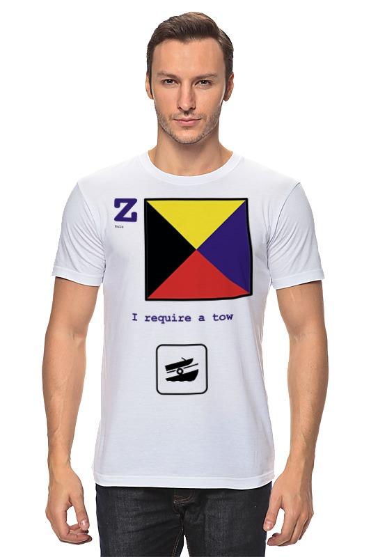 Футболка классическая Printio Zulu (z), флаг мсс (eng) oom control for eng lenses
