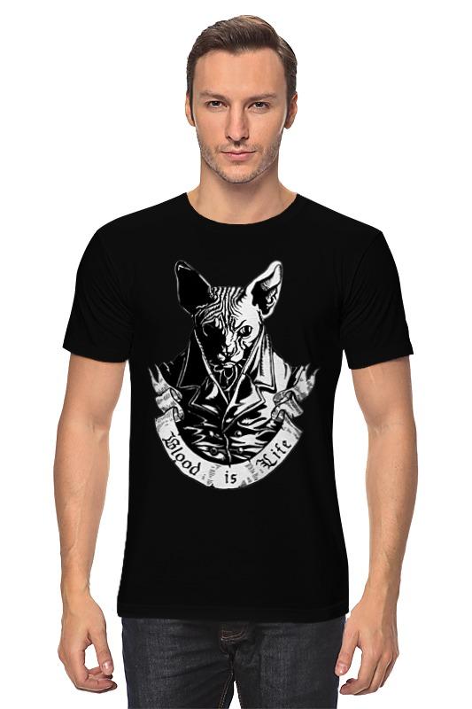 Футболка классическая Printio Плохой кот футболка стрэйч printio плохой кот
