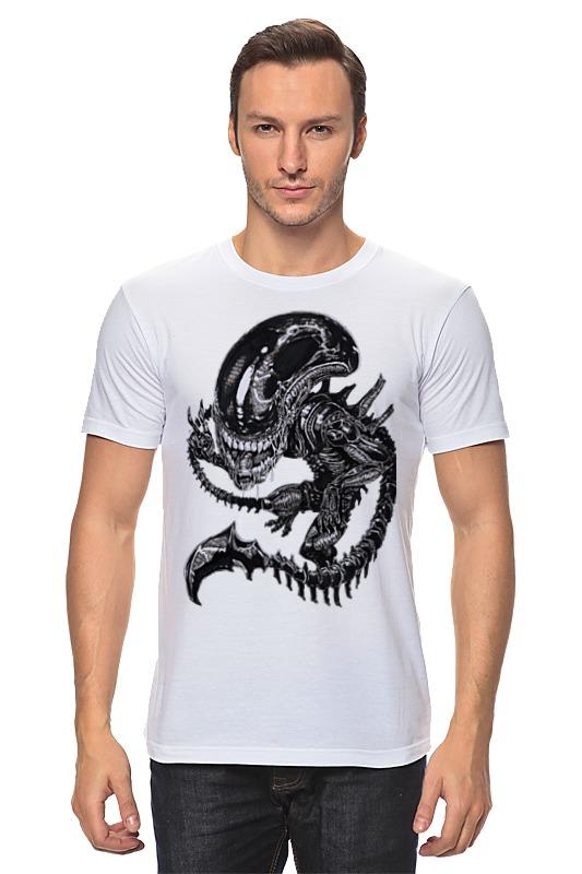 Футболка классическая Printio Чужой / alien футболка классическая printio мачете убивает