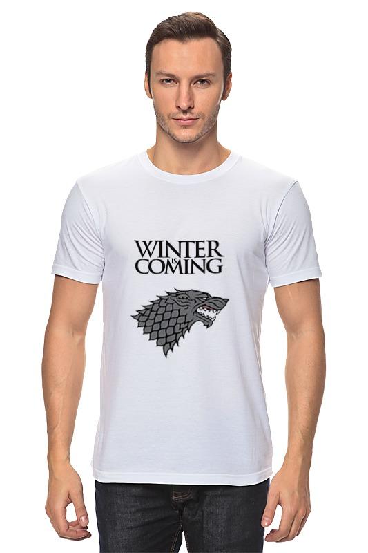 Printio Зима близко футболка зима