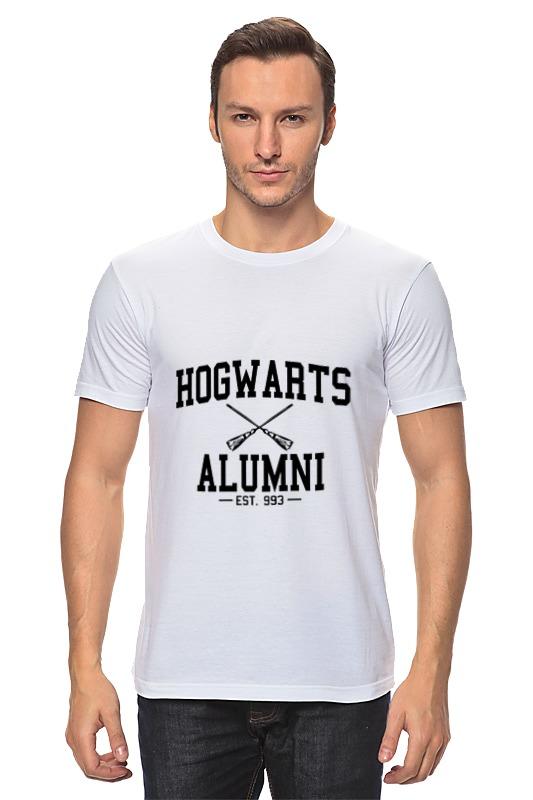 Футболка классическая Printio Hogwarts alumni retro harry potter hogwarts hog wax seal stamp copper head diy scrapbooking vintage sealing wedding envelop gift seal