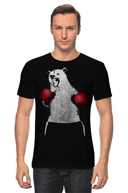 Printio Медведь боксер лонгслив printio медведь боксер