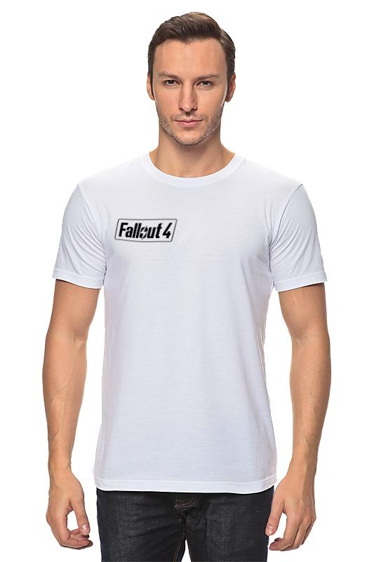 Футболка классическая Printio Fallout 4 logo футболка классическая printio fallout фэллаут