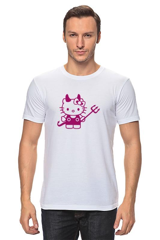 Футболка классическая Printio Hello kitty devil цена
