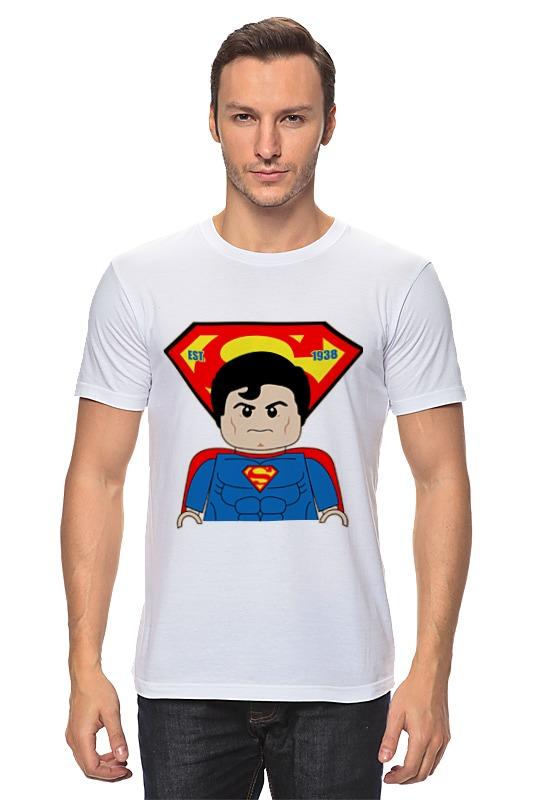 Футболка классическая Printio Лего супермен детское лего gudi