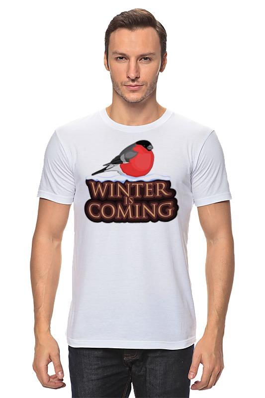 Футболка классическая Printio Winter is coming футболка рингер printio winter is coming
