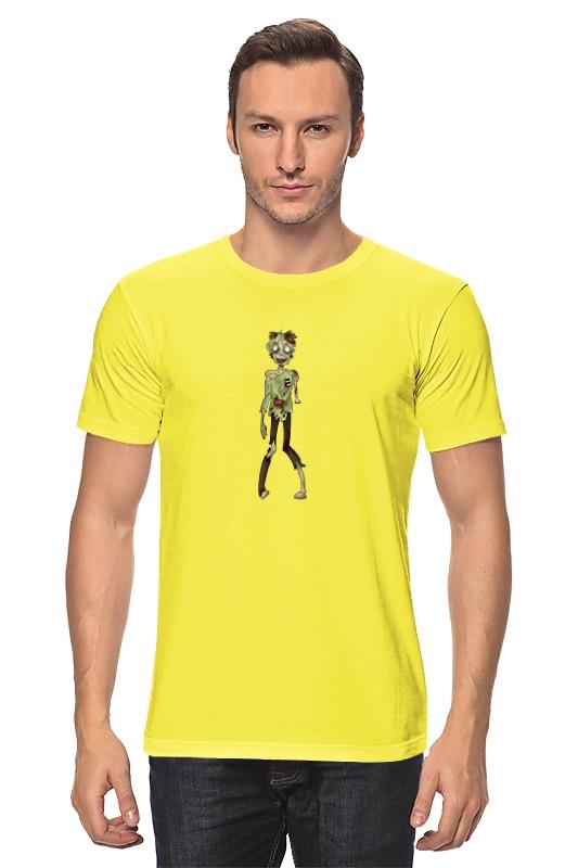Футболка классическая Printio Zombie girl (зомби) лонгслив printio рука зомби zombie hand