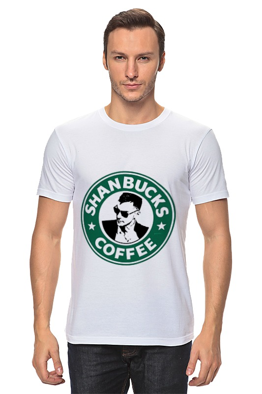 Футболка классическая Printio Shanbucks coffee