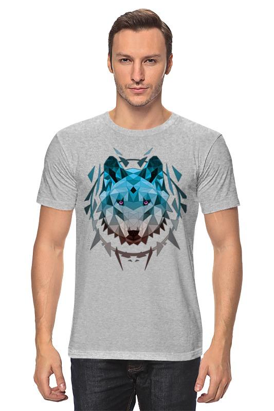 Футболка классическая Printio Геометрический волк блендер vitek vt 3408 800вт пл рег турбо венчик изм