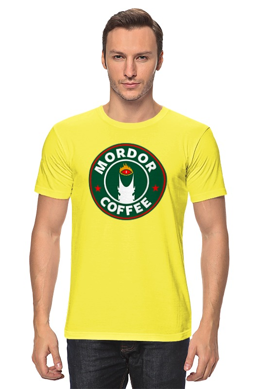 Футболка классическая Printio Mordor coffee
