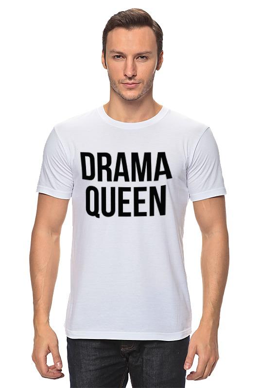 купить Футболка классическая Printio Drama queen дешево
