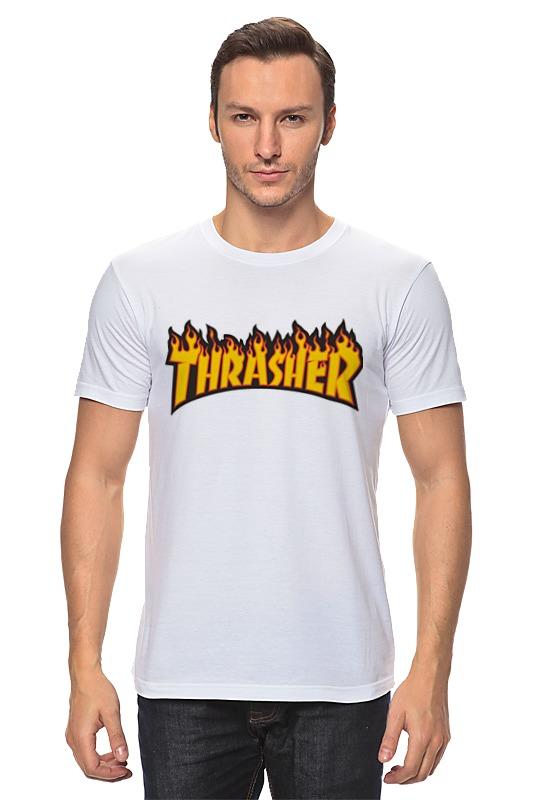 Футболка классическая Printio Thrasher thrasher майка thrasher gonz raceback blue m