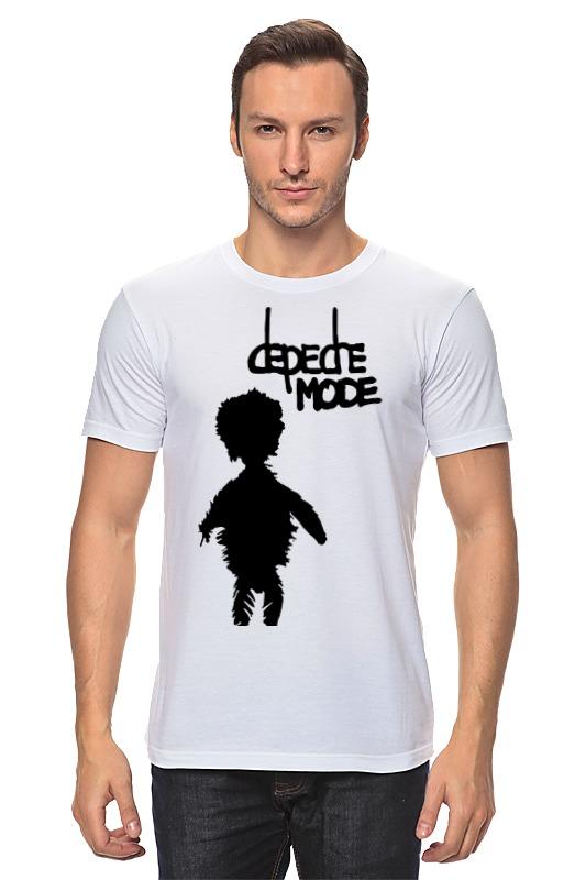 Футболка классическая Printio Depeche mode футболка рингер printio depeche mode