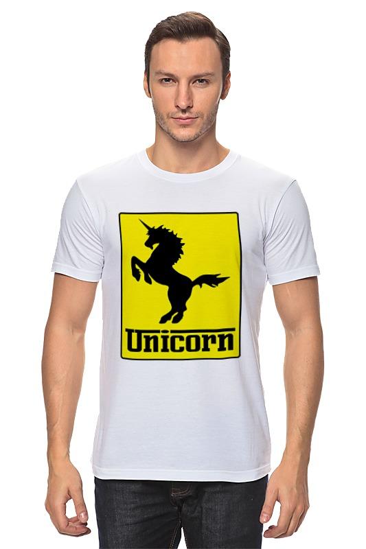 Футболка классическая Printio Unicorn x ferrari детская футболка классическая унисекс printio unicorn x ferrari