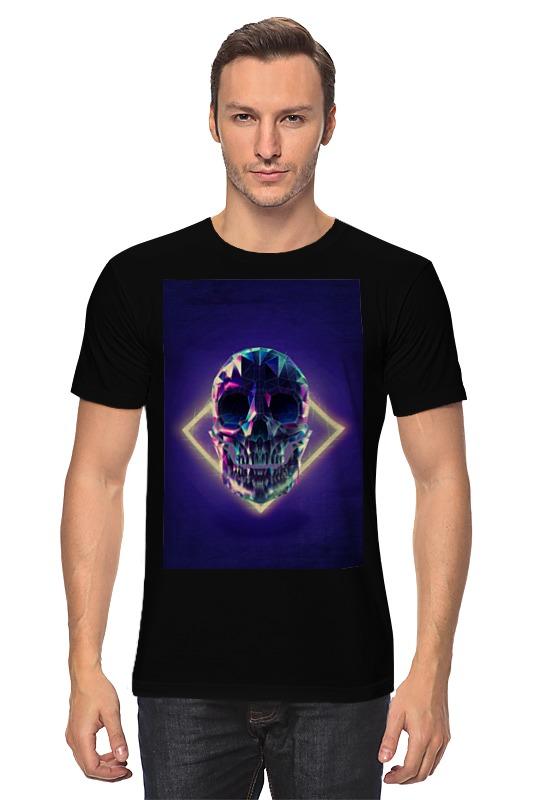 Футболка классическая Printio Low poly skull футболка классическая printio low poly skull