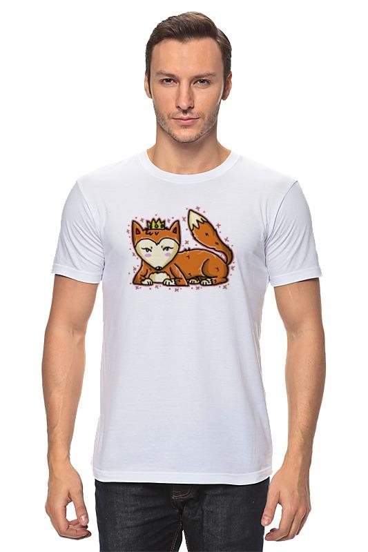 Футболка классическая Printio Лисичка футболка классическая printio лисичка fox