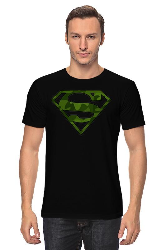 Футболка классическая Printio Супер-солдат футболка классическая printio неизвестный солдат