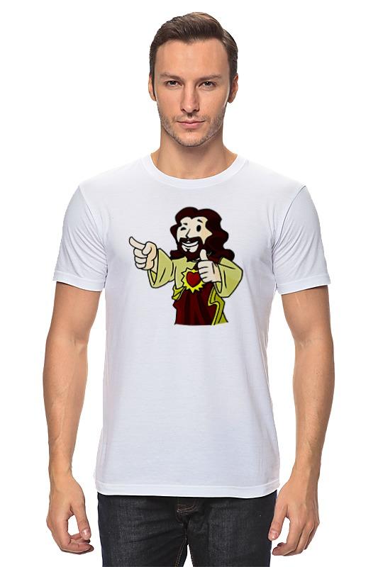 Футболка классическая Printio Иисус (фэллаут) рюкзаки кенгуру globex грандер