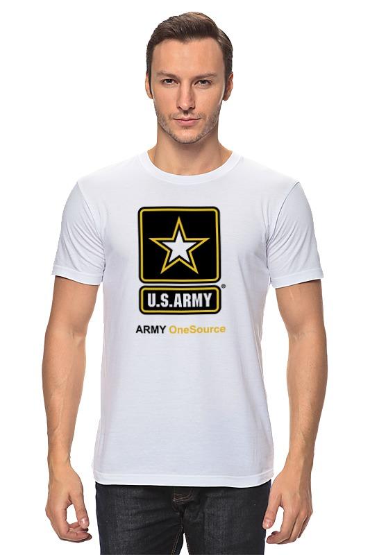 Футболка классическая Printio U.s. army emersongear chest rig multicam vest airsoft painball military army combat gear em2978 mc aor1 aor2