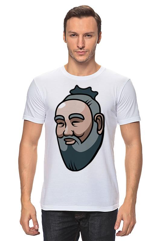 Футболка классическая Printio Конфуций майка классическая printio конфуций