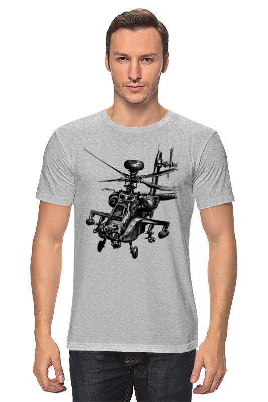 Футболка классическая Printio Апач (вертолёт)