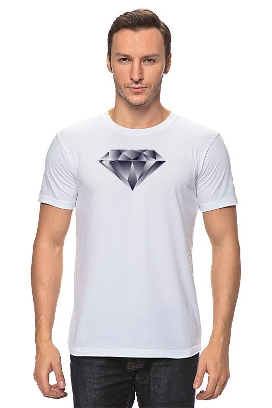 Футболка классическая Printio Алмаз алмаз алмаз 1020