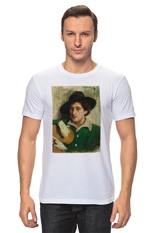 Футболка классическая Printio Портрет марка шагала (юдель пэн) сумка printio портрет марка шагала юдель пэн
