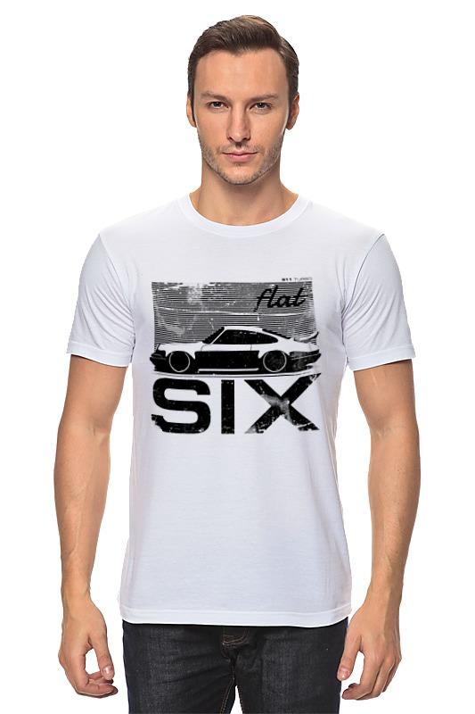 Футболка классическая Printio Porsche carrera 911 flat six stance