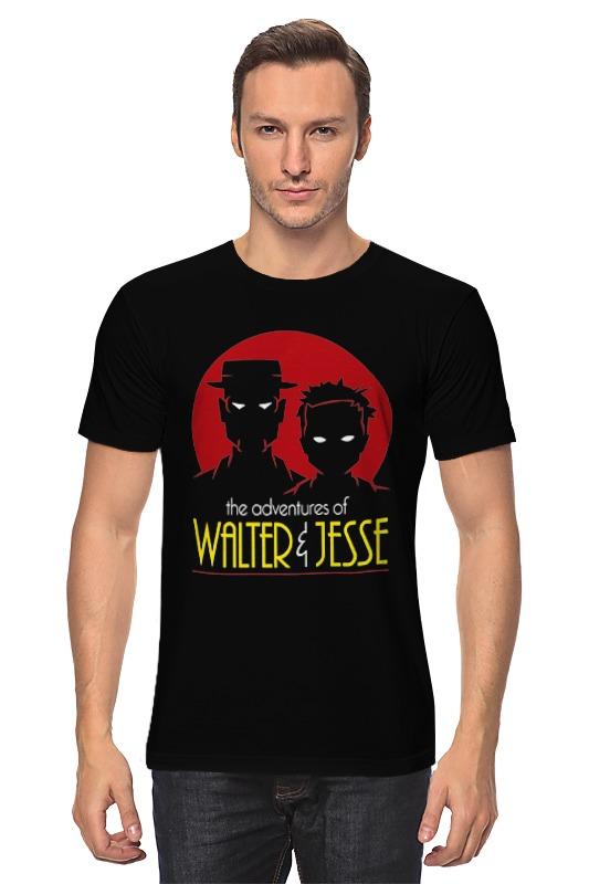 Футболка классическая Printio Walter & jesse jesse jesse kaikki