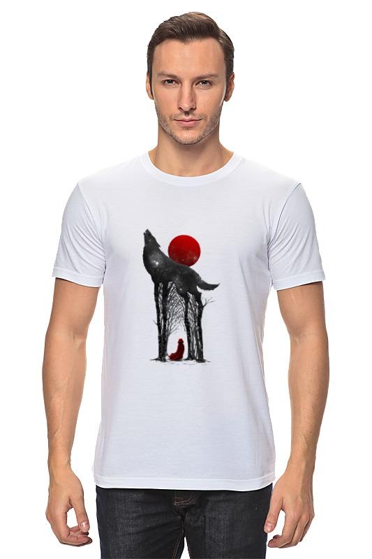 Футболка классическая Printio Little red футболка стрэйч printio волк и луна