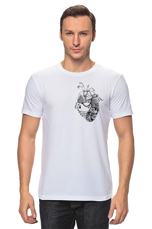 Футболка классическая Printio Механическое сердце пламенный мотор машинка инерционная volvo пожарная охрана