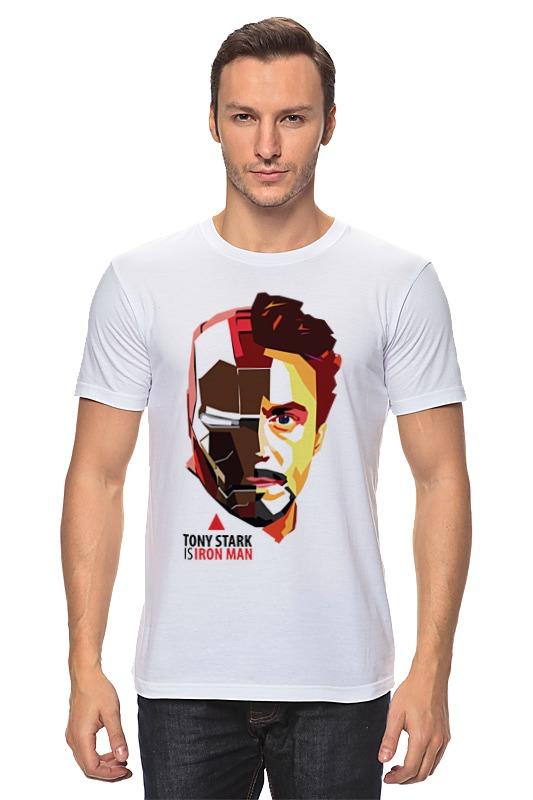 Футболка классическая Printio Tony stark (iron man) футболка классическая printio stark bucks coffee iron man