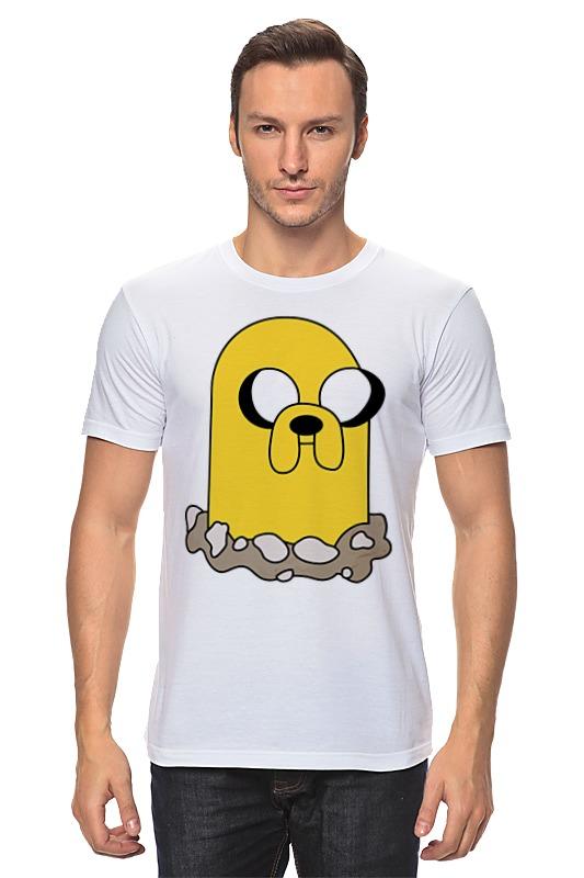 Футболка классическая Printio Джейк (время приключений) футболка классическая printio gta 5 dog
