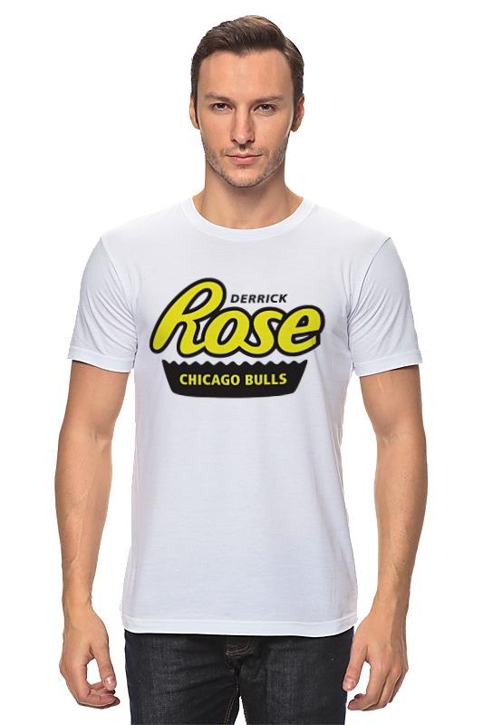 Футболка классическая Printio Деррик роуз футболка с полной запечаткой printio нью йорк никс