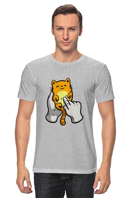 Футболка классическая Printio Котенок футболка классическая printio котенок охотник