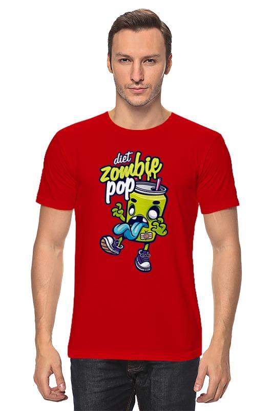 Футболка классическая Printio Zombie pop набор тарелок r2s томат и моцарелла 4шт 20см фарфор
