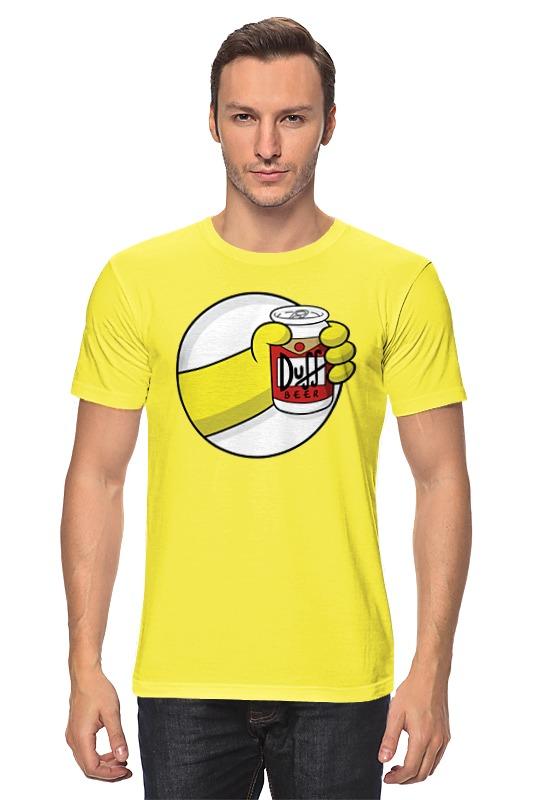 Футболка классическая Printio Пиво дафф (duff beer) сумка printio duff beer