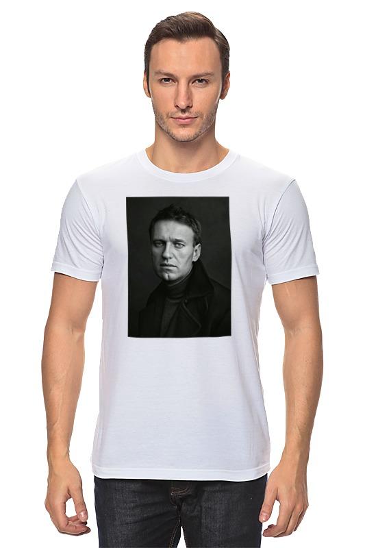 Футболка классическая Printio Портрет навального футболка классическая printio николай гоголь портрет работы фёдора моллера