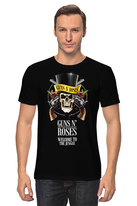 Футболка классическая Printio Guns n' roses футболка guns n roses