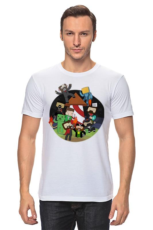 Футболка классическая Printio Человечки сумка printio человечки