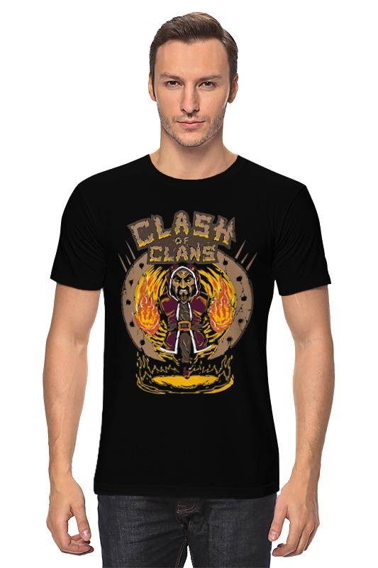 Футболка классическая Printio Столкновение кланов (clash of сlans)