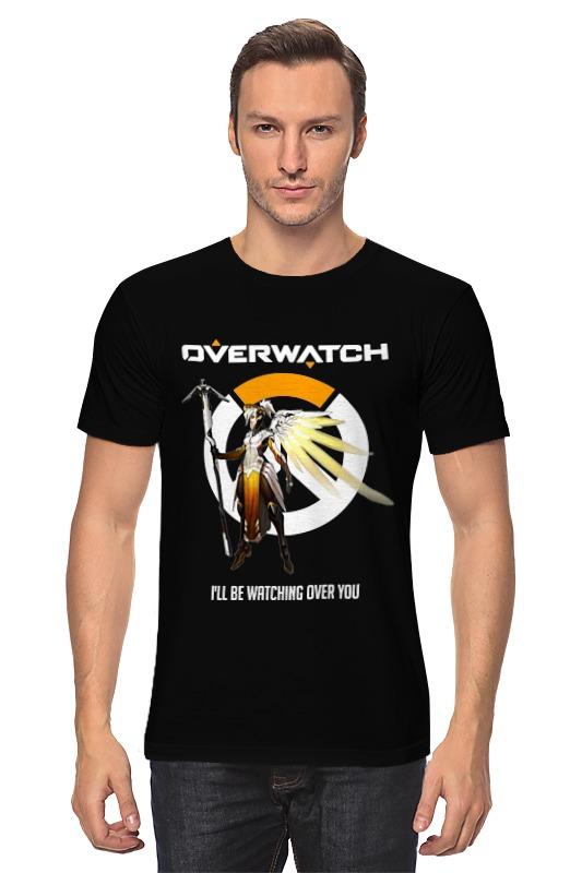 Футболка классическая Printio Overwatch. ангел футболка классическая printio overwatch ангел
