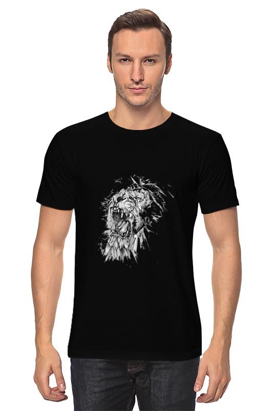 Футболка классическая Printio Growl lion худи print bar skull lion