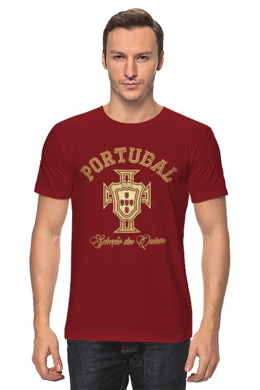 Футболка классическая Printio Сборная португалии обувь в португалии