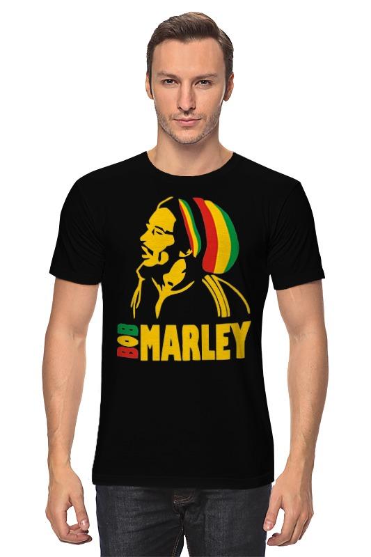 Футболка классическая Printio Боб марлей (bob marley) детская футболка классическая унисекс printio боб марлей bob marley