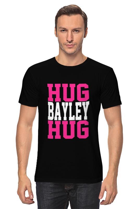 Футболка классическая Printio Hug bayley hug (wwe) lovin hug
